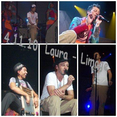 Concert le 4.11.2010 Limoges ♥