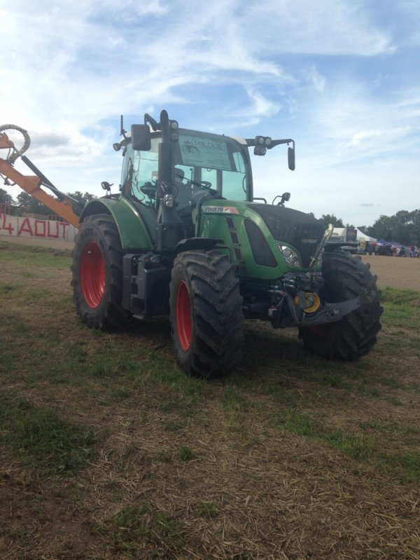 Tracteur pulling sillingy