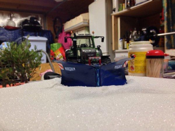 Mini diorama de déneigement
