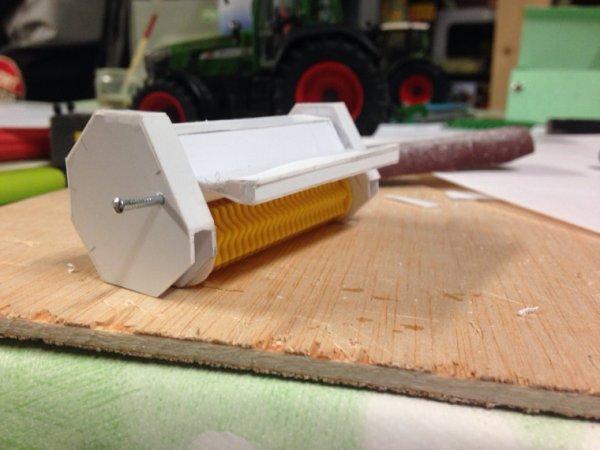 Fabrication d'un broyeur à souche m700