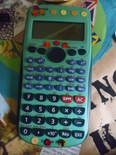 Décorer une calculatrice