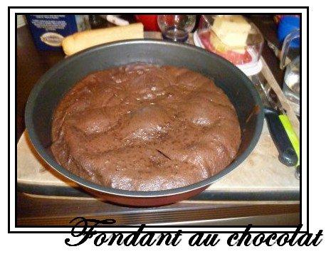 Recette : Le fondant au chocolat