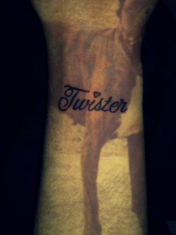 Twister, mon fils, ma vie, mon sang