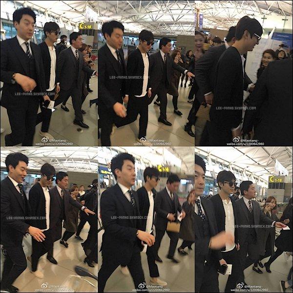 -- 31/03/2016: Lee Min-ho est actuellement au philippines pour faire des photos de la marque For Bench. --