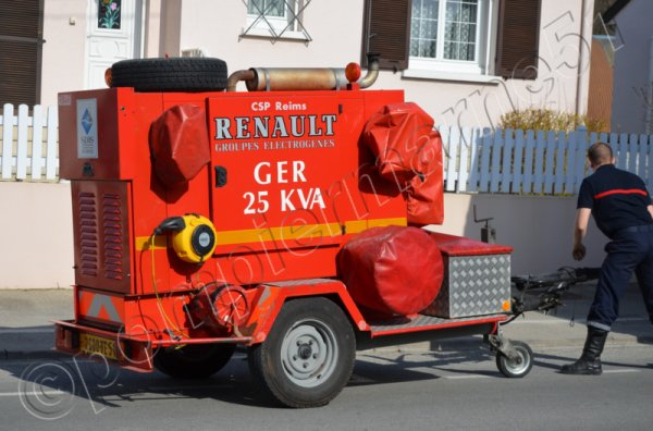GER RENAULT 25KVA REIMS-MARCHANDEAU