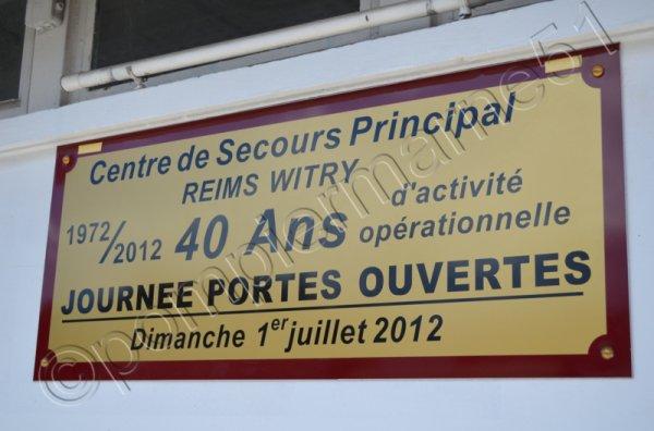 CENTRE D'INCENDIE ET DE SECOURS PRINCIPAL REIMS-WITRY