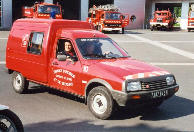 ANCIENNE VL N°10 CITROEN C15 DIESEL REIMS-WITRY