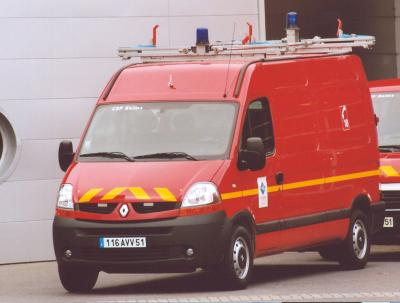 ANCIEN CTU N°1 RENAULT MASTER PHASE II DCi80 REIMS-WITRY