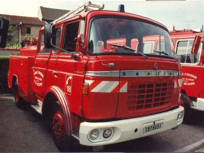 ANCIEN FPT N°3 BERLIET GAK CAMIVA REIMS-WITRY