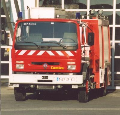 ANCIEN FPT N°4 RENAULT M220 CAMIVA REIMS-WITRY