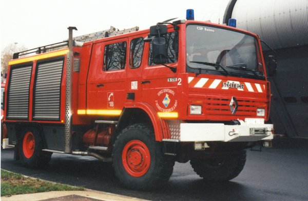 ANCIEN FPTHR N°2 RENAULT S170 SIDES REIMS-WITRY