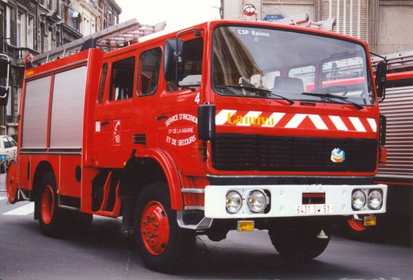 ANCIEN FPTHR N°4 RENAULT G230 THOMAS-CAMIVA REIMS-WITRY