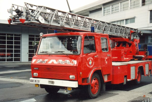 ANCIENNE EPA N°2 BERLIET 770KB CAMIVA-MAGIRUS REIMS-WITRY