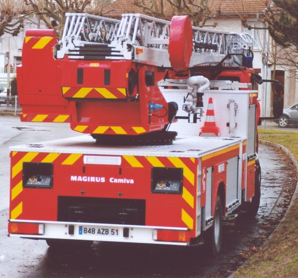 ANCIENNE EPSA 2 IVECO 160E30 MAGIRUS-CAMIVA REIMS-WITRY