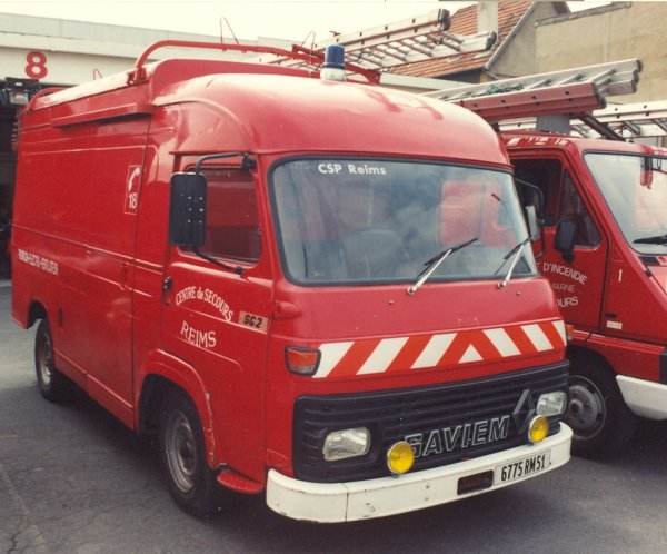 ANCIEN FEV SAVIEM SG2 REIMS-WITRY