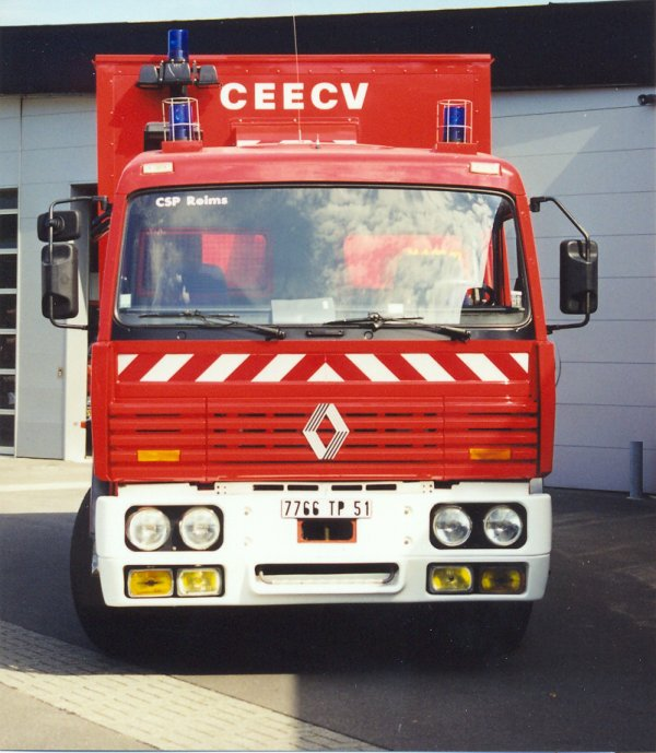 ANCIEN VPCE N°2 RENAULT G300 REIMS-WITRY