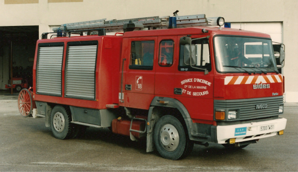 ANCIEN FPT N°1 IVECO 135-17 SIDES CHALONS-EN-CHAMPAGNE