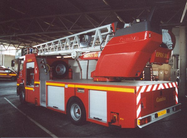 ANCIENNE EPAS IVECO 130E23 CAMIVA CHALONS-EN-CHAMPAGNE