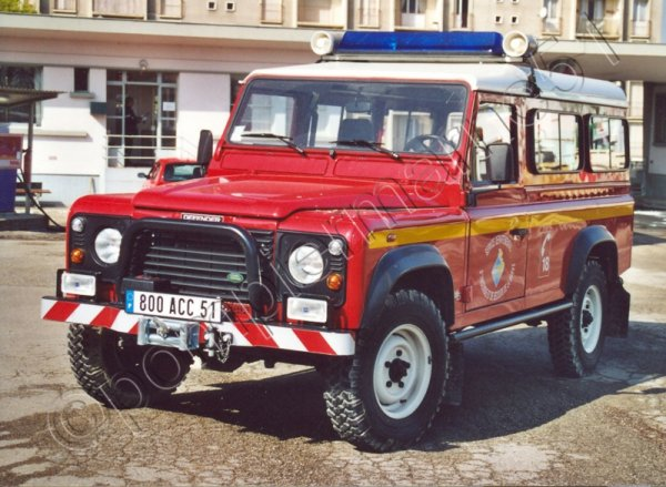 VLHR LAND-ROVER DEFENDER 110 TDS VITRY-LE-FRANCOIS