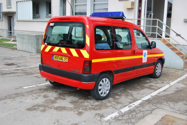 ANCIEN VLCG CITROEN BERLINGO HDI CSP VITRY-LE-FRANCOIS