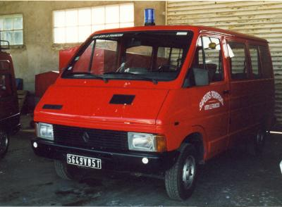ANCIEN VTP RENAULT TRAFFIC VITRY-LE-FRANCOIS