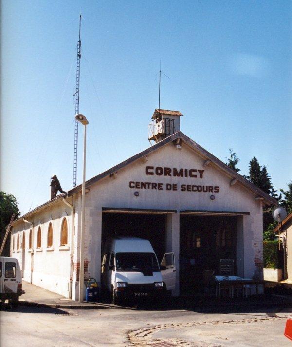 CENTRE D'INCENDIE ET DE SECOURS DE CORMICY