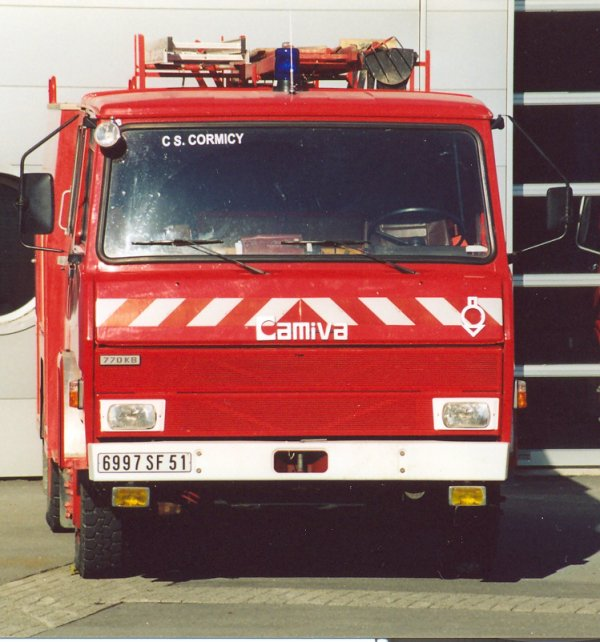 ANCIEN FPT BERLIET 770KB6 CAMIVA CS CORMICY