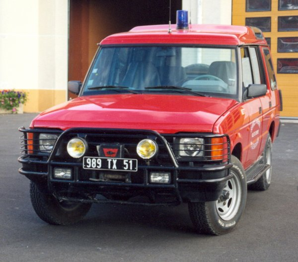 ANCIEN VLHR LAND ROVER DISCOVERY CS SUIPPES
