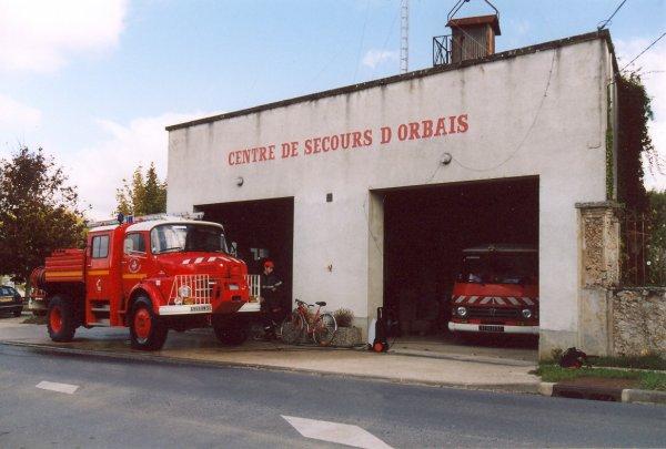 ANCIEN CENTRE DE SECOURS  D'ORBAIS-L'ABBAYE