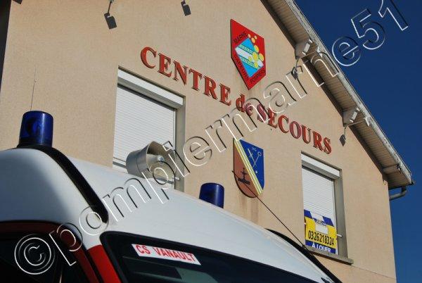 CENTRE D'INCENDIE ET DE SECOURS DE VANAULT-LES-DAMES