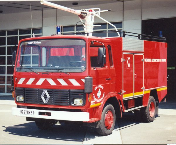 ANCIEN VEPO RENAULT JN60 SIDES REIMS-WITRY