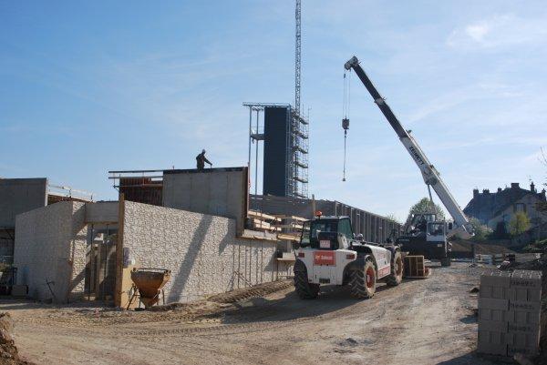 CENTRE DE SECOURS DE FISMES LA CONSTRUCTION