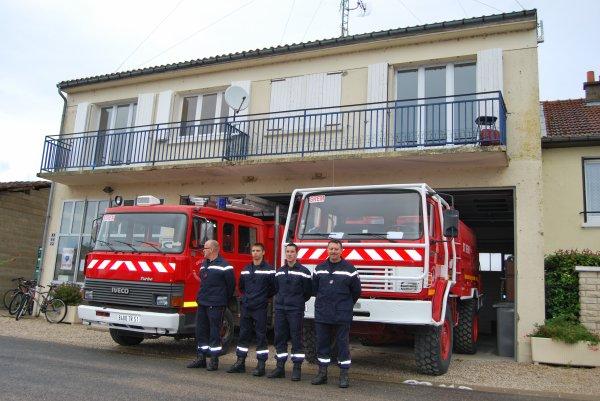 CENTRE D'INCENDIE ET DE SECOURS DE SAINT-REMY-EN-BOUZEMONT