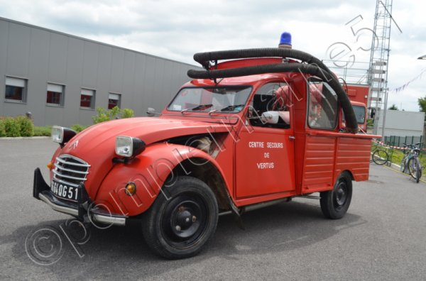 ANCIEN PS CITROEN 2cv AK400 CS VERTUS