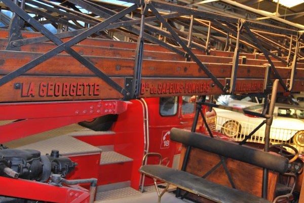 VISITE AU MUSEE AUTOMOBILE REIMS-CHAMPAGNE