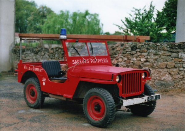 VLHR JEEP WILLYS CPI DAMERY