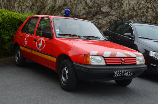 VLTP PEUGEOT 205 CENTRE D'INTERVENTION DE CORMONTREUIL
