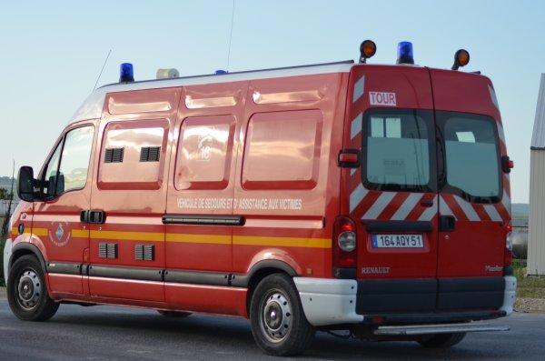 VSAV GIFA RENAULT MASTER DCI120 CIS TOURS-SUR-MARNE