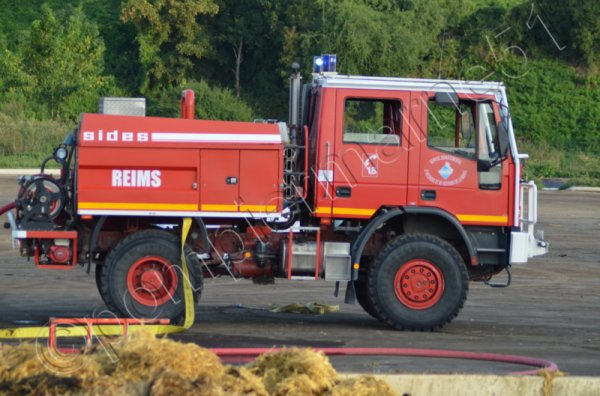 ANCIEN CCFM4000  IVECO 135E21 SIDES REIMS-WITRY