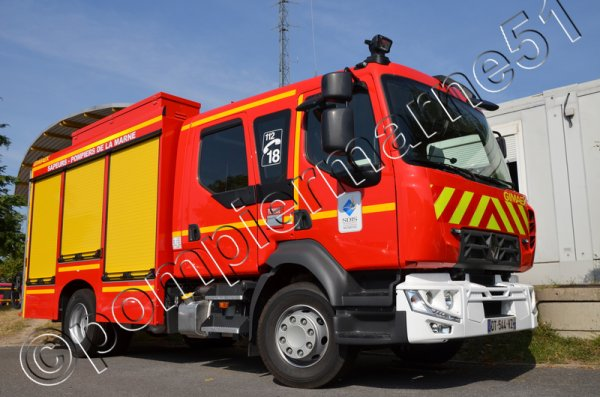 FTP 01 RENAULT TRUCKS D15 GIMAEX CISP REIMS-WITRY
