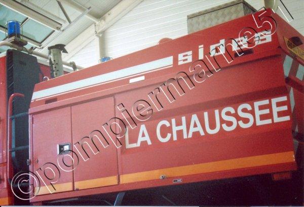 LES ENGINS EN SERVICE AUJOURD'HUI AU CIS DE LA CHAUSSEE-SUR-MARNE