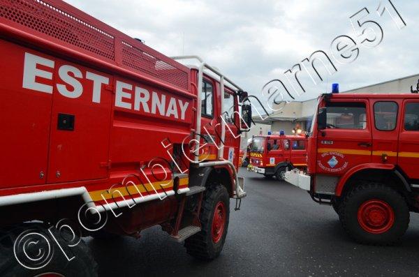 LES ENGINS EN SERVICE AUJOURD'HUI AU CIS D'ESTERNAY