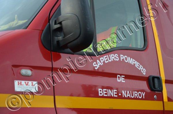 LES ENGINS EN SERVICE AUJOURD'HUI AU CPI DE BEINE-NAUROY