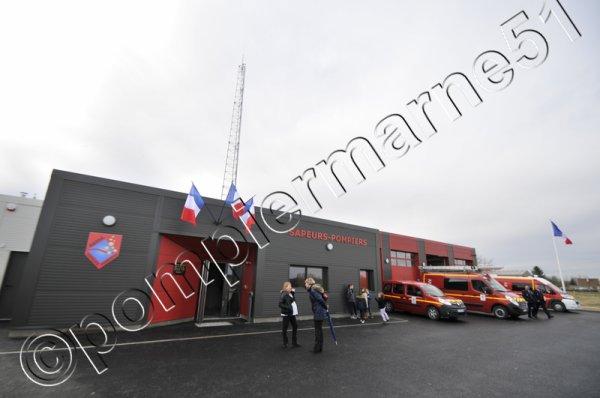LA CASERNE DU C.I.S. DE DAMPIERRE-LE-CHATEAU