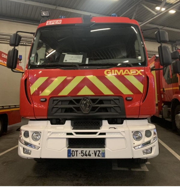 FPT 01 RENAULT TRUCK D15 GIMAEX CSP EPERNAY