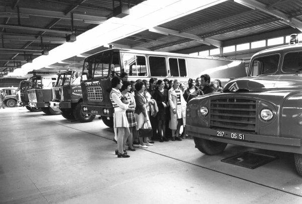 INAUGURATION CSP REIMS-WITRY EN 1972