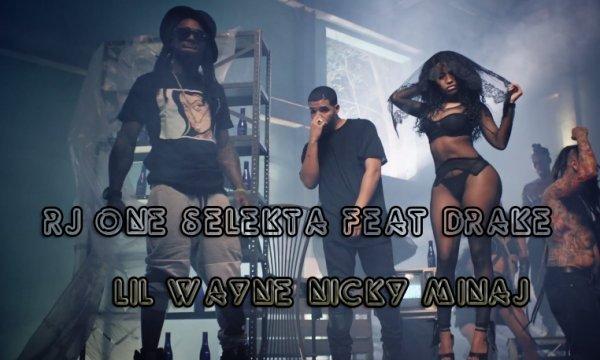 Nicki Minaj Feat Drake & Lil Wayne - Truffic butter Remix By RJ ONE SELEKTA  (2015)
