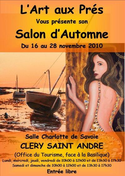 Salon d'Automne à Cléry St André