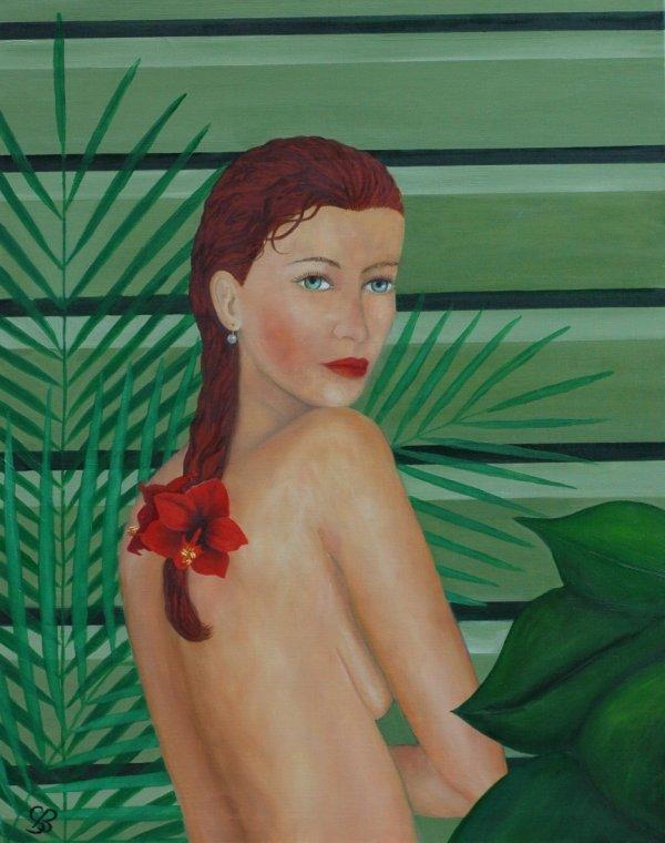 "37 - ""Femme au jardin n°4"""