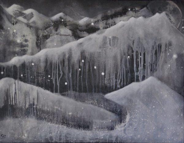 "50 - ""Abstrait Noir & Blanc"""